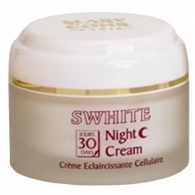 Swhite 30 days night cream