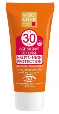 Age Signes Defense Eye protection SPF30