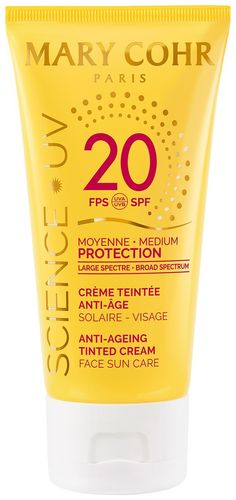 anti age tinted creme spf20